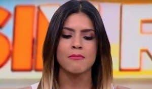 Francisca Lachapel no puede controlar sus lágrimas