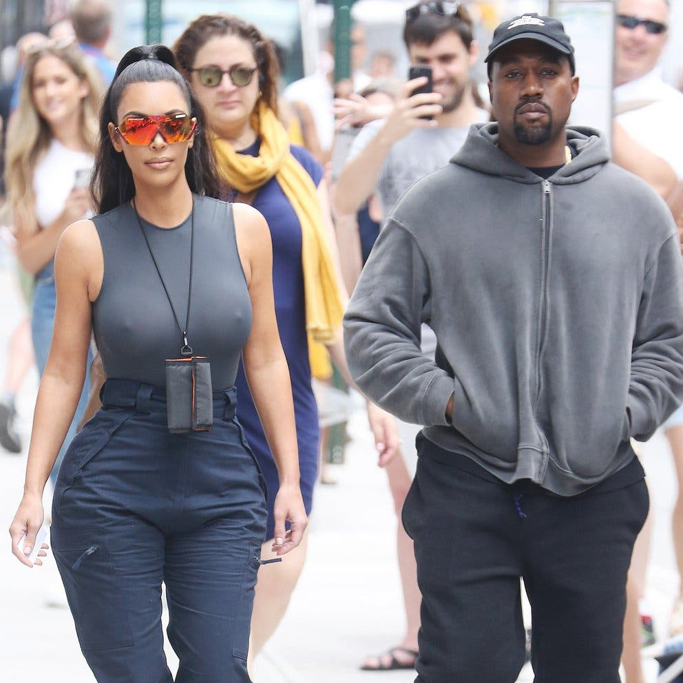 La razón por la que Kanye West no respondió al pedido de divorcio de Kim Kardashian