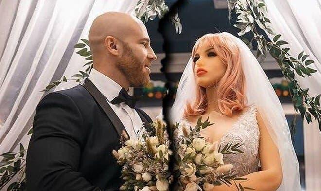 Viral: Fisiculturista se divorcia de su muñeca inflable y revela el motivo