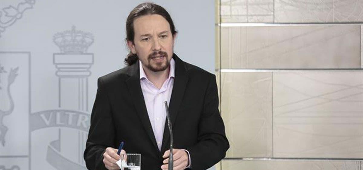 Vicepresidente del Gobierno español, Pablo Iglesias, irá a comicios de Madrid