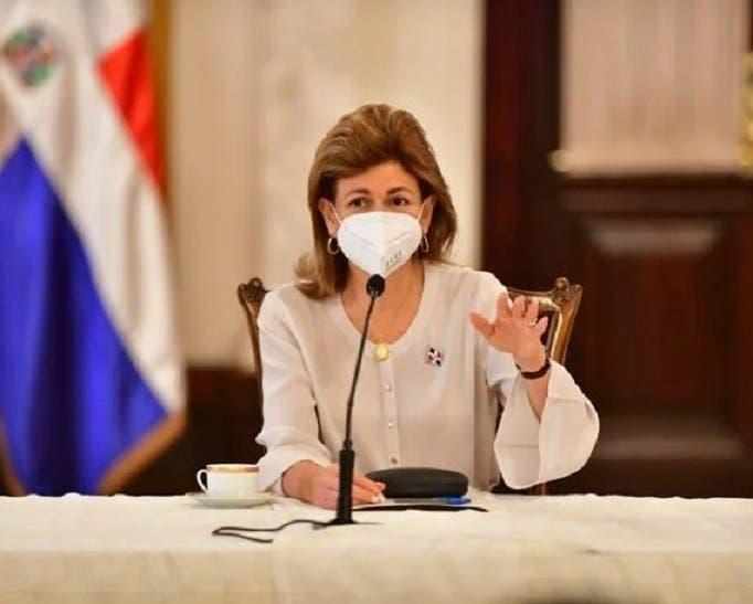 Vicepresidenta Raquel Peña: «No es necesario hacer cita para recibir la segunda dosis de la vacuna»