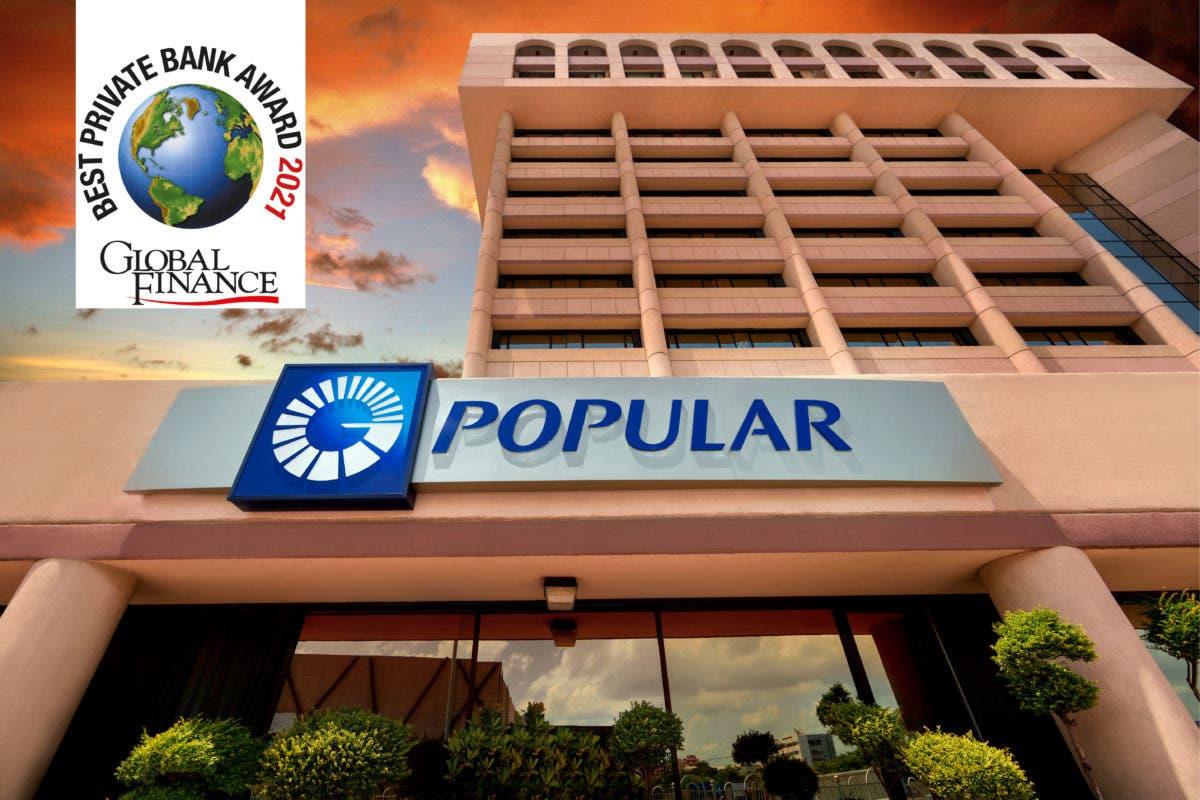 Reconocen al Banco Popular como la mejor banca privada
