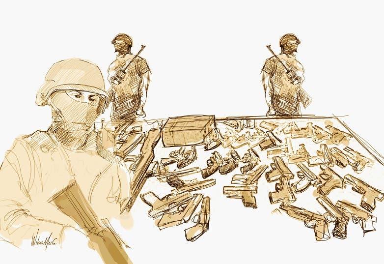 Entrega de armas y candidez