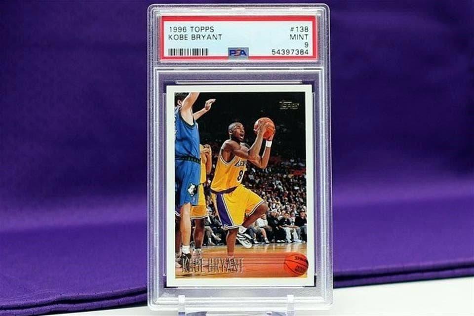 Venden tarjeta de Kobe Bryant en casi dos millones de dólares
