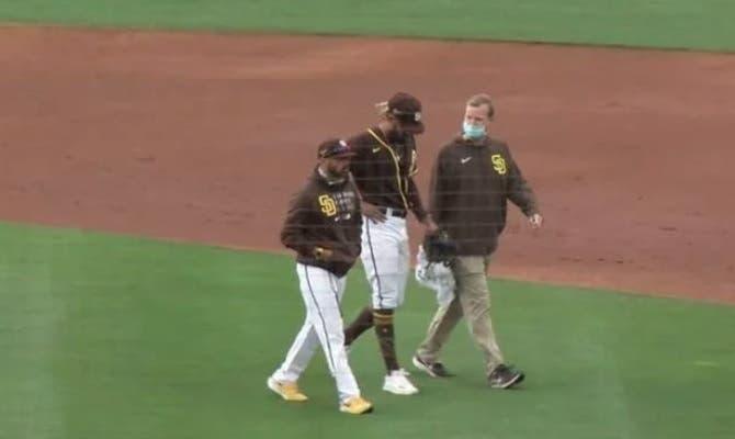 Fernando Tatis Jr. ya «se siente bien» tras molestia en el hombro izquierdo