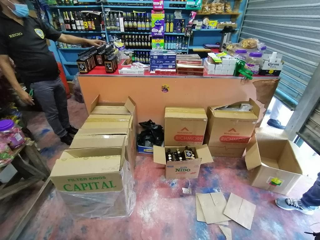 Incautan 31,884 unidades de cigarrillos en San Pedro