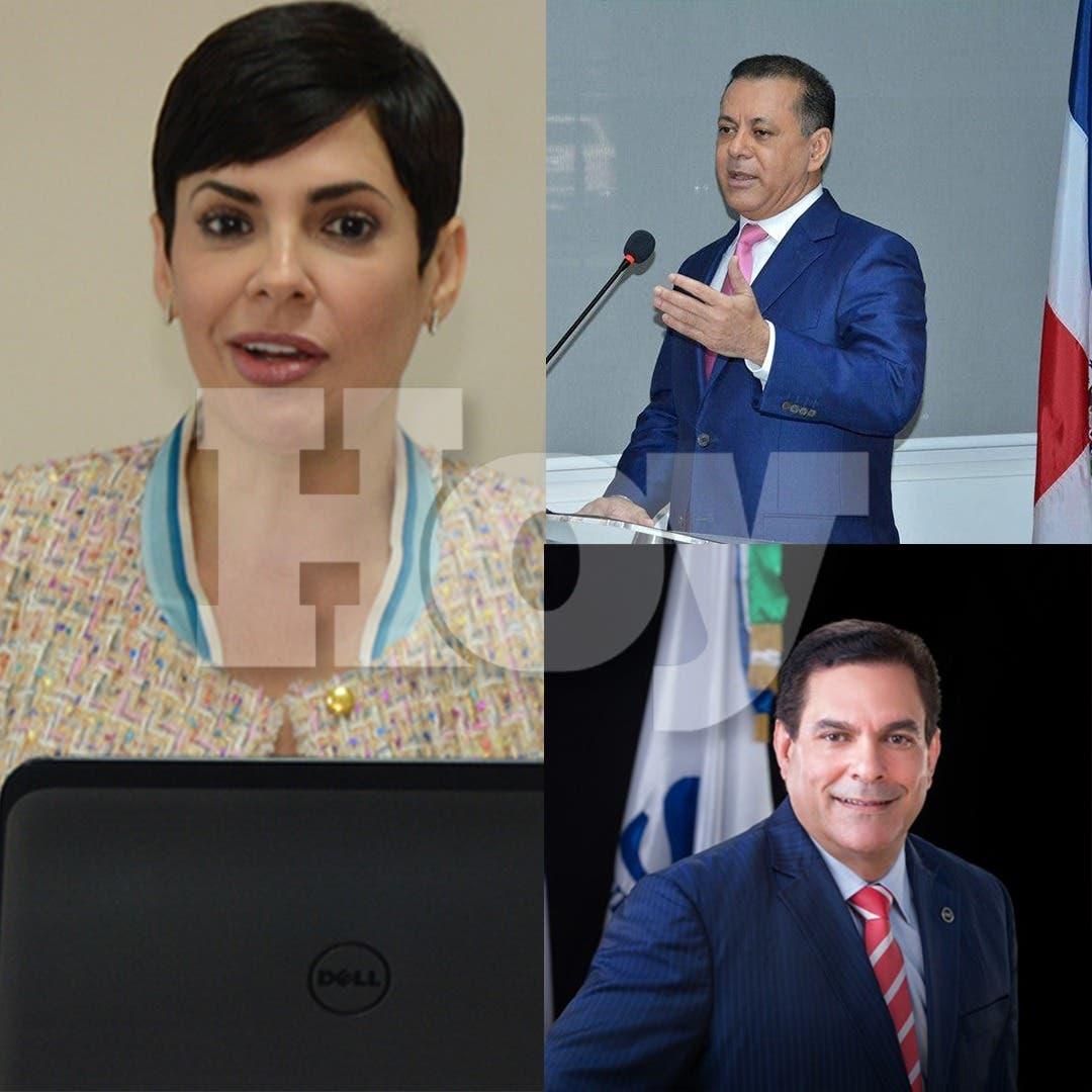 Los funcionarios designados por Danilo Medina que Luis Abinader no ha podido remover