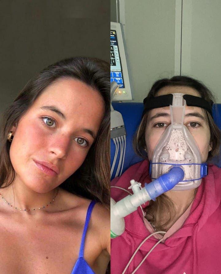 """""""No quiero morir"""", el clamor de una joven contra la fibrosis quística"""