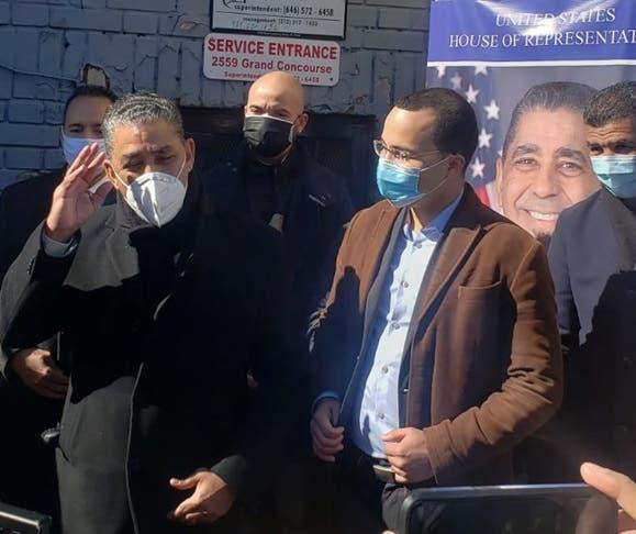 Congresista reitera apoyo a Oswald Feliz para concejal distrito 15 en El Bronx