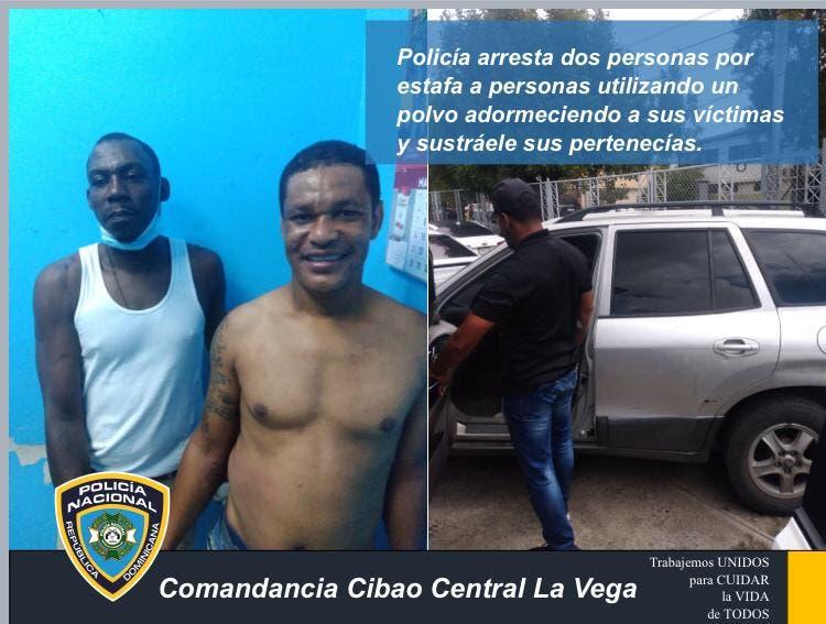 La Policía arresta a dos hombres que se dedicaban a estafar personas utilizando «un polvo»
