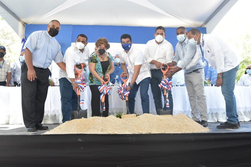 El INAPA inicia rehabilitación de la planta de tratamiento de aguas residuales en Barahona