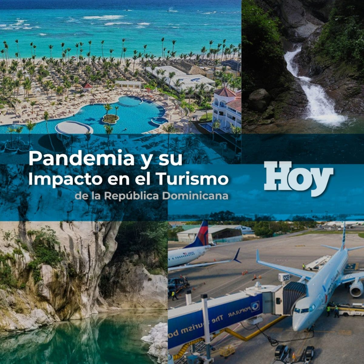 Pandemia y su impacto en el turismo de la República Dominicana
