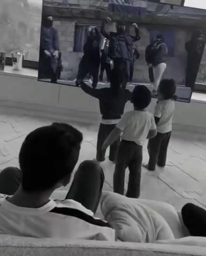 Viral el video de los hijos de Ronaldo celebrando los 770 goles