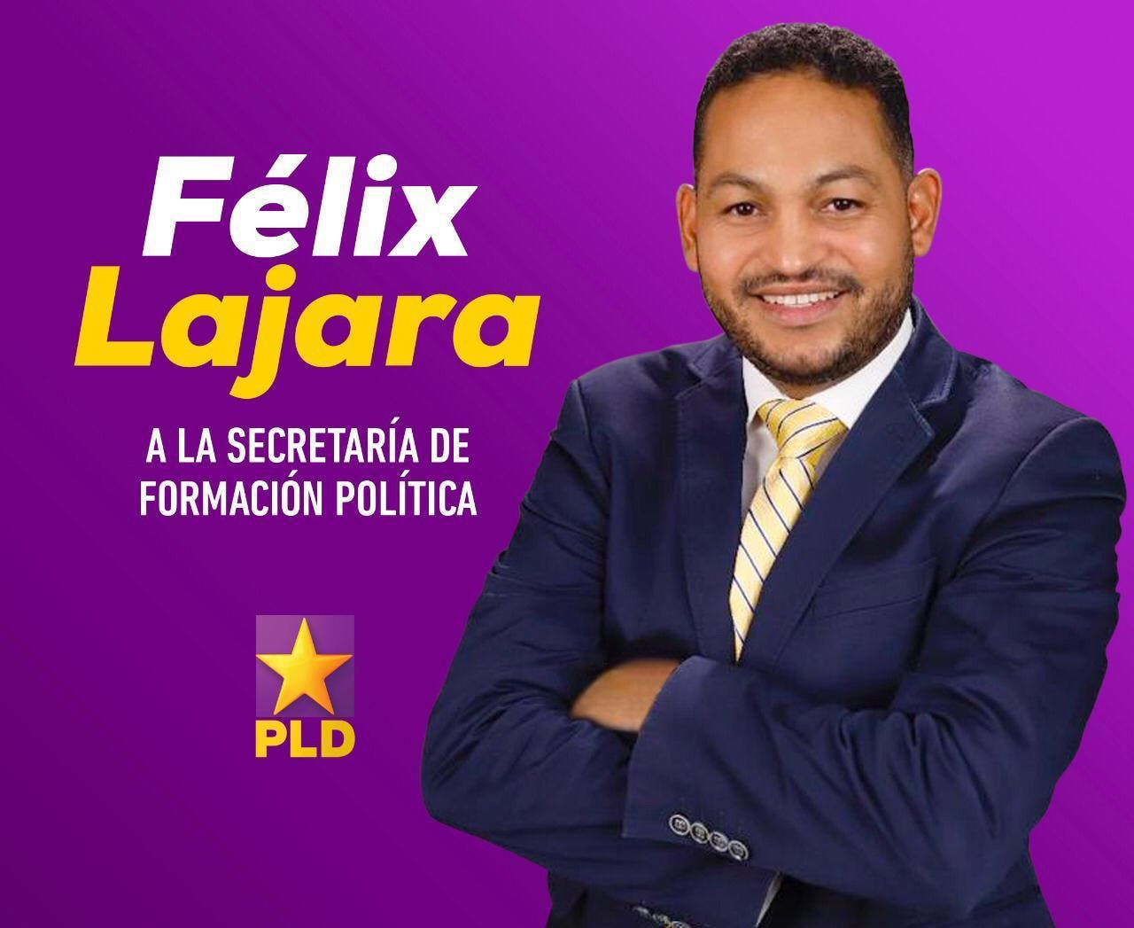 Félix Lajara aspira a la Secretaría de Formación Política PLD