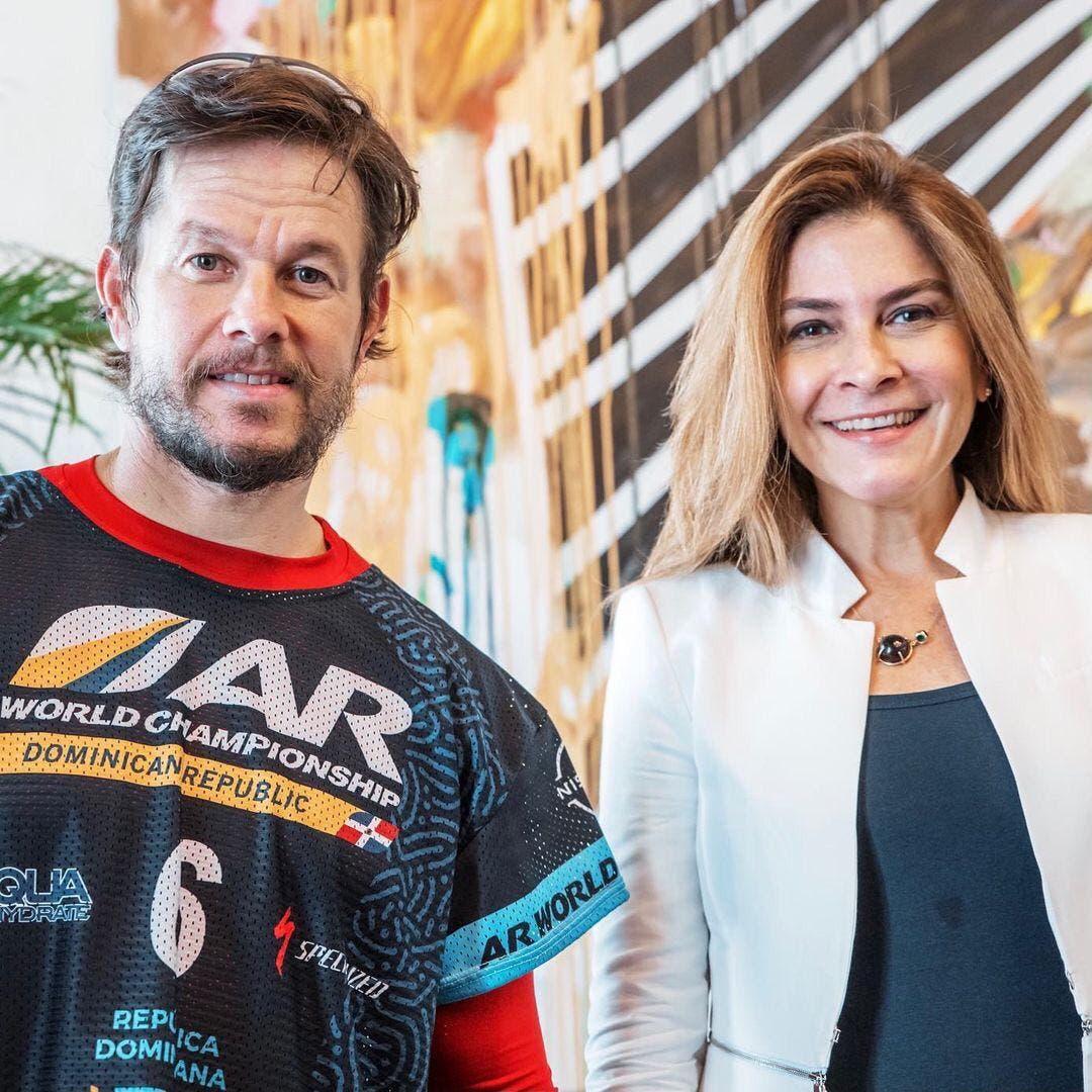 Mark Wahlberg se reunió con Carolina Mejía