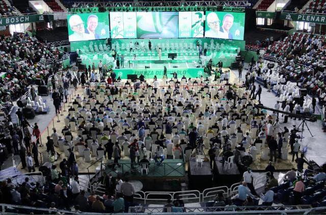 Fuerza del Pueblo da inicio al cierre de su primer congreso
