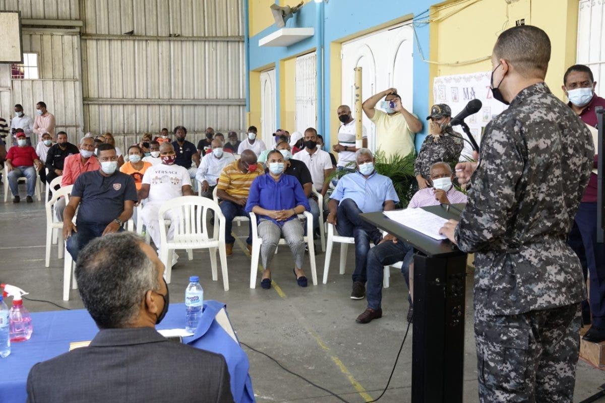 Reforzarán la seguridad ciudadana en barrios del DN de mayor incidencia delictiva