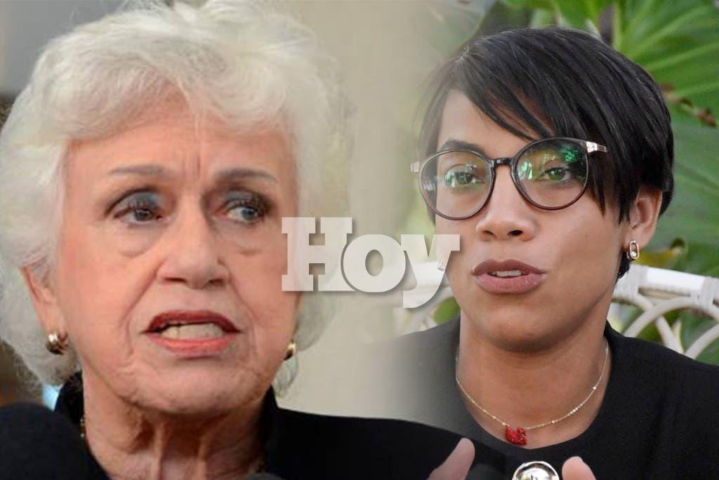 Ortiz Bosch a gobernadora de Montecristi: al poder se va a servir y no a disfrutar de sus beneficios
