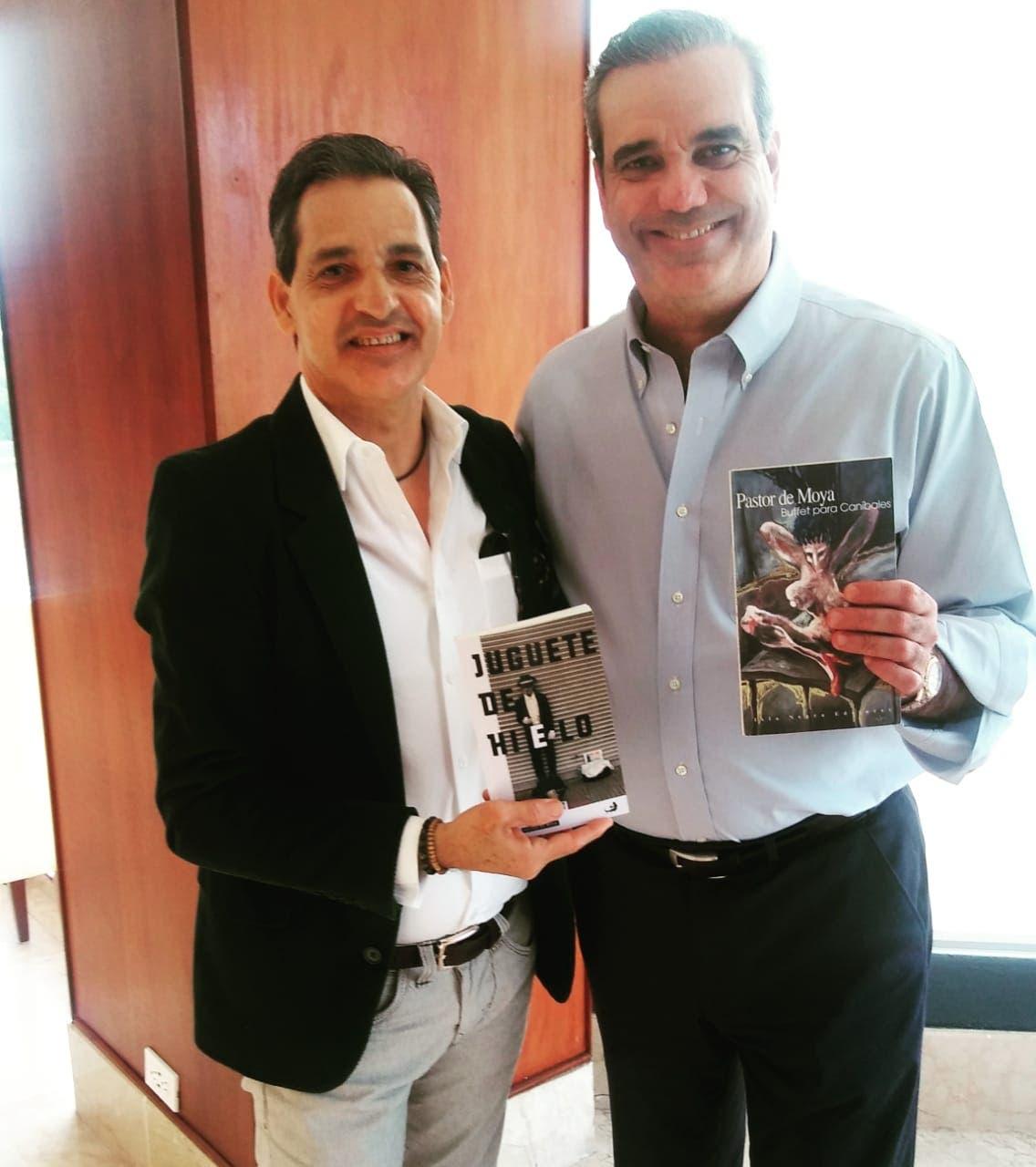 Luis Abinader designa a escritor Pastor De Moya como viceministro de Cultura