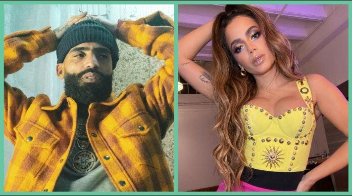 Anitta reacciona molesta a cometario de Arcángel sobre las mujeres