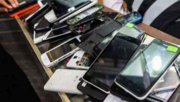 La Policía recupera 156 celulares en 45 días