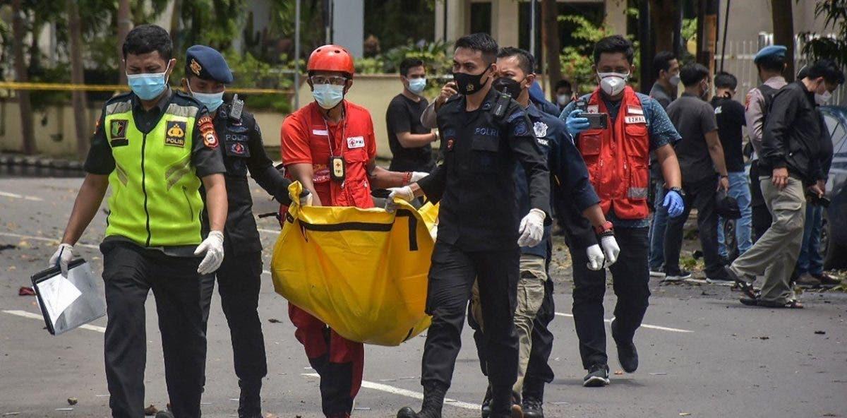 Al menos 2 muertos y 20 heridos en atentado contra iglesia en Indonesia