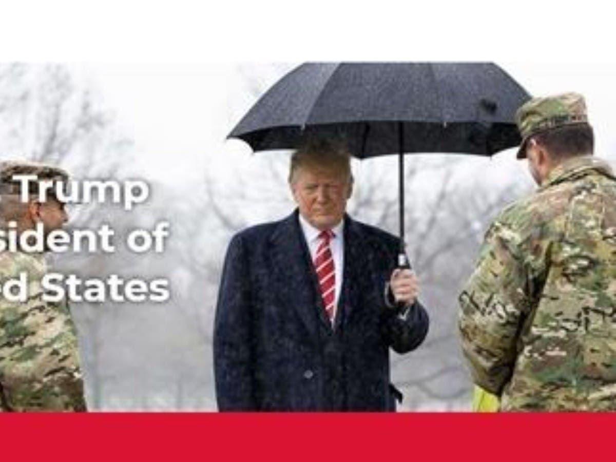 """Donald Trump, un presidente sin tacha y con un """"magnífico legado"""" en su nueva web"""