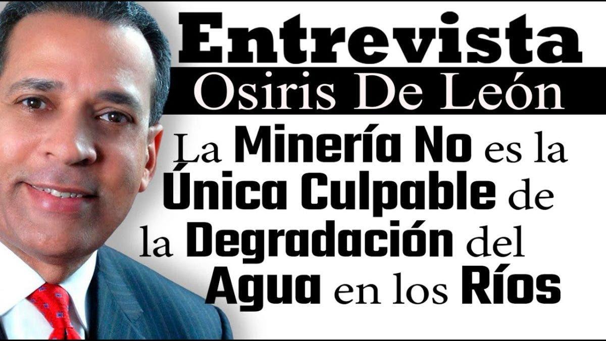 Entrevista a Osiris de León en el programa Telematutino 11