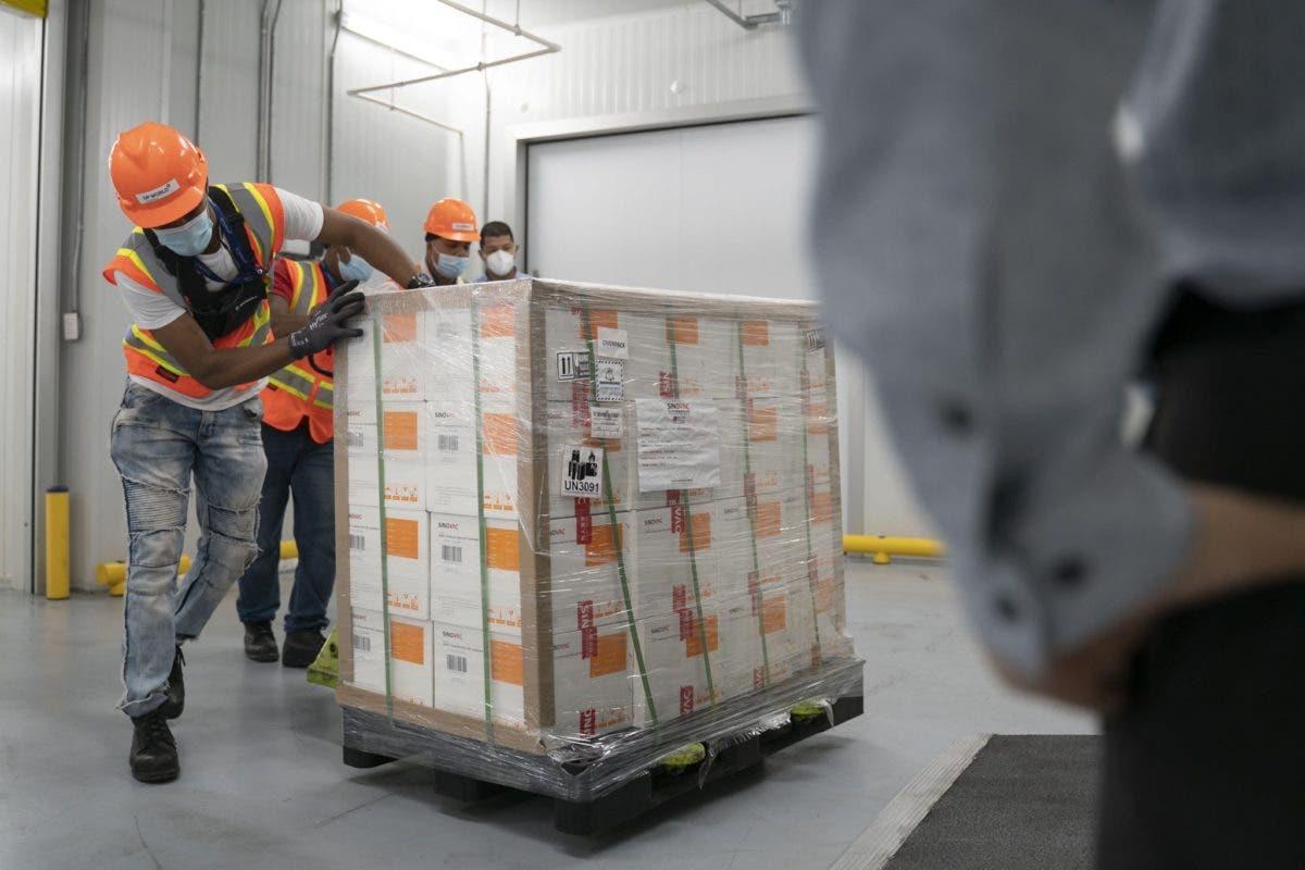 Raquel Peña: Equipo de Logística se prepara para distribuir el millón de vacunas Sinovac