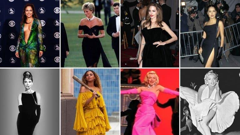Del vestido de Marilyn Monroe al de JLo: las prendas que hicieron historia en Hollywood