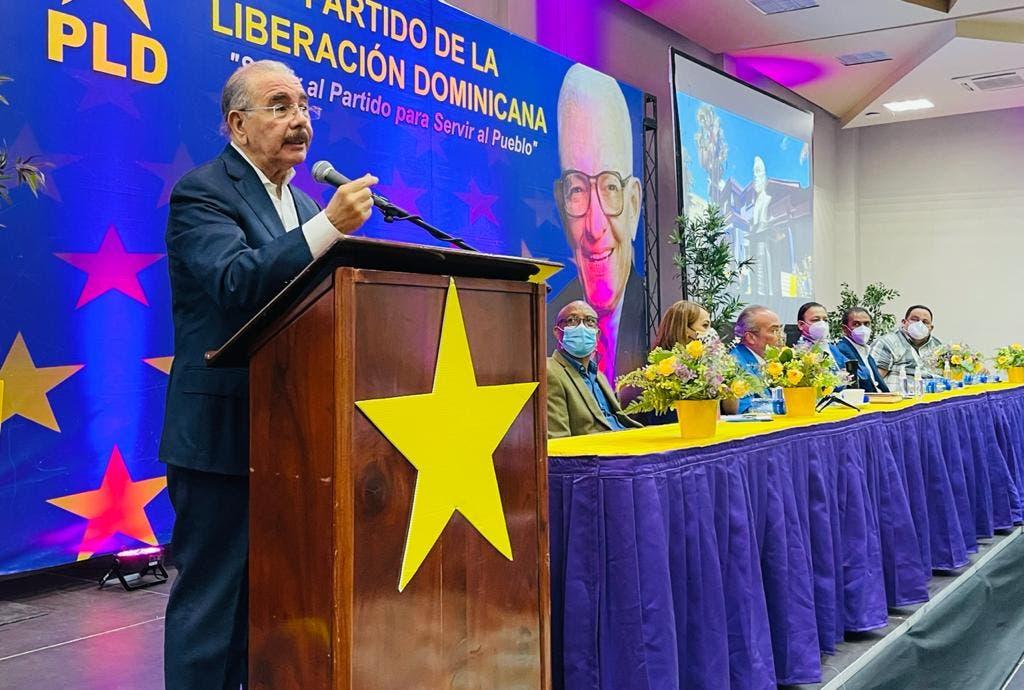Danilo Medina: El PLD está de vuelta