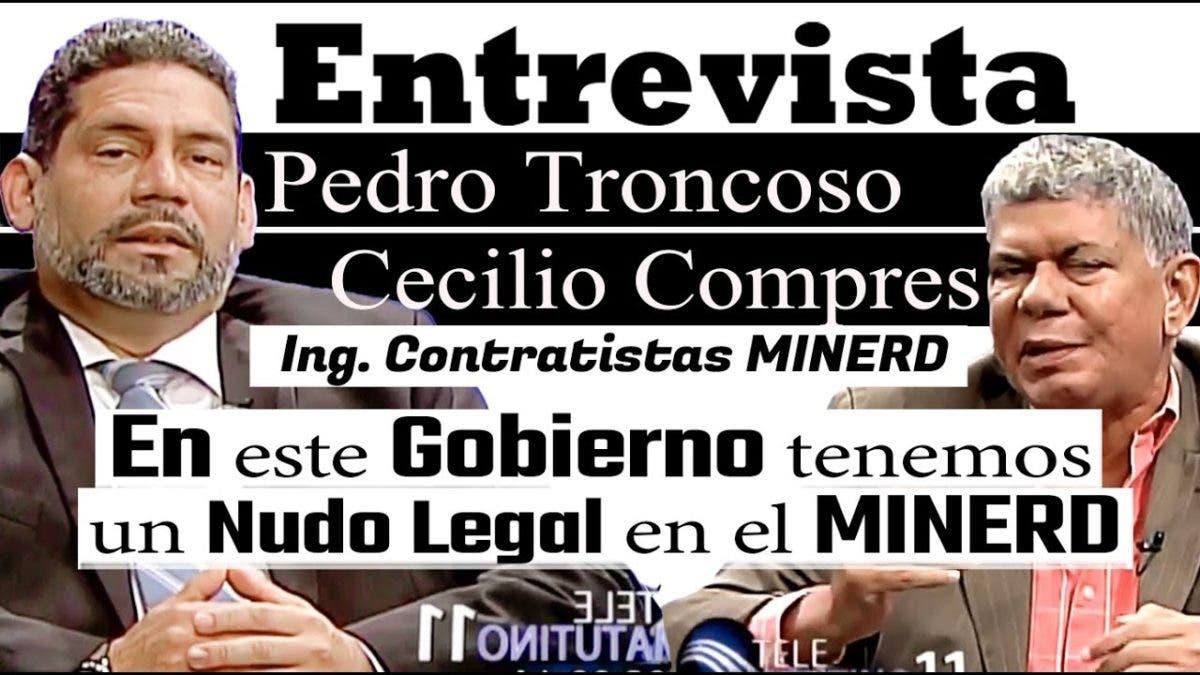 Entrevista a Pedro Troncoso y Cecilio Compres en el programa Telematutino 11