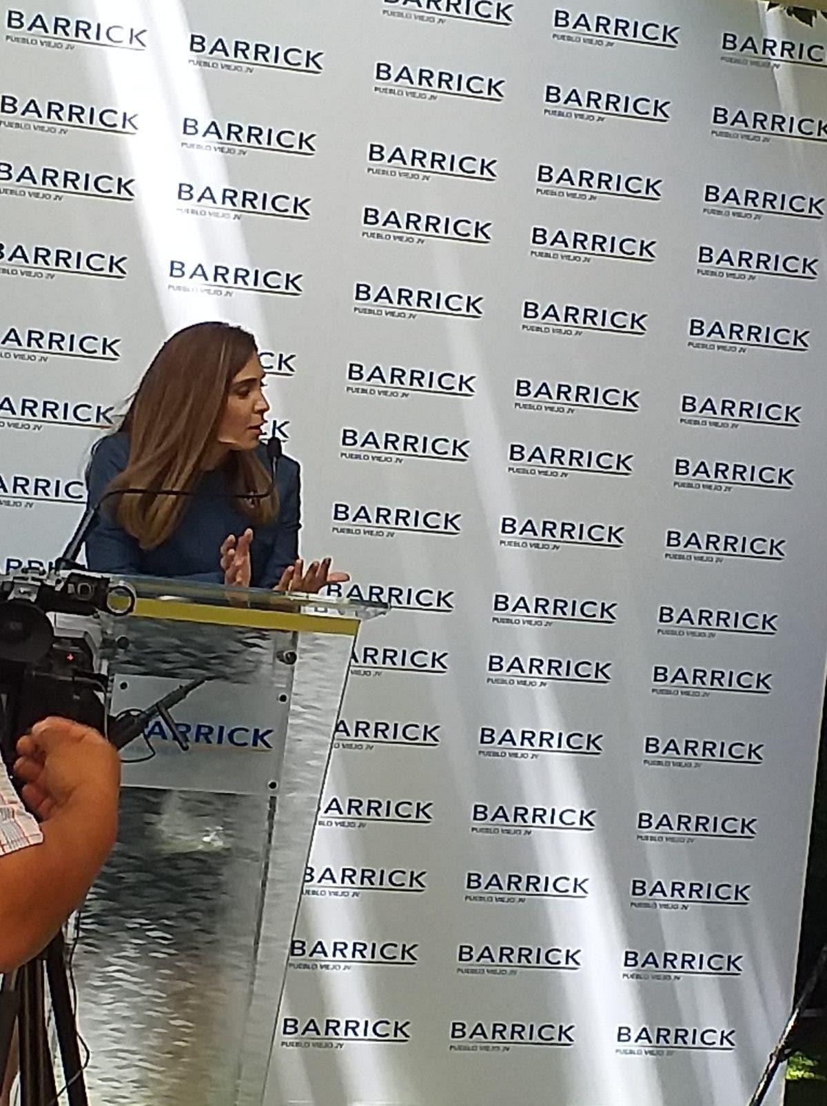 Lo que dijo la Barrick sobre manifestación en Yamasá