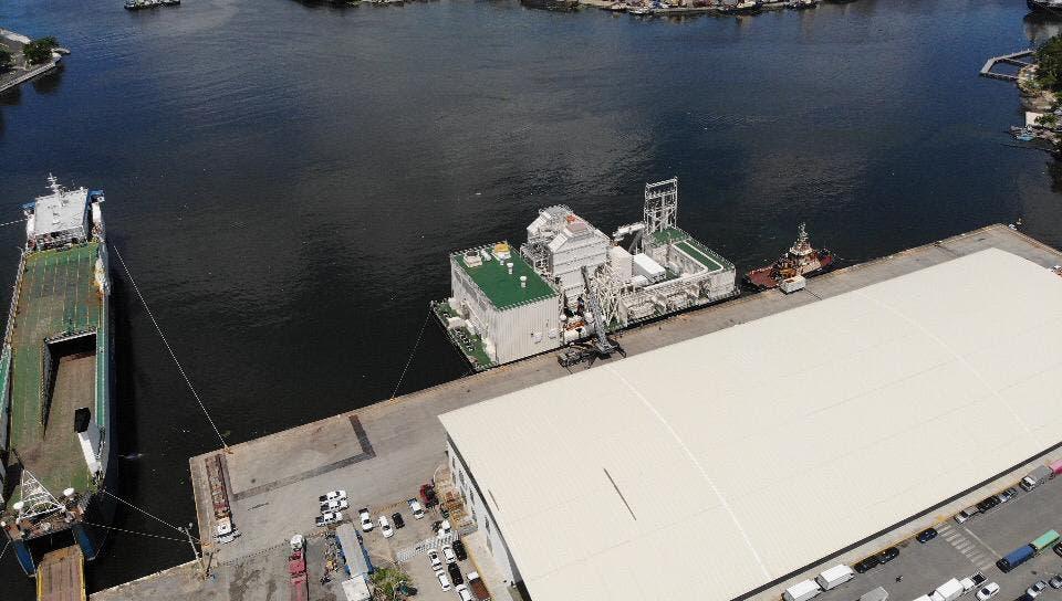 INSAPROMA cuestiona llegada de planta flotante estrella del mar III al río Ozama