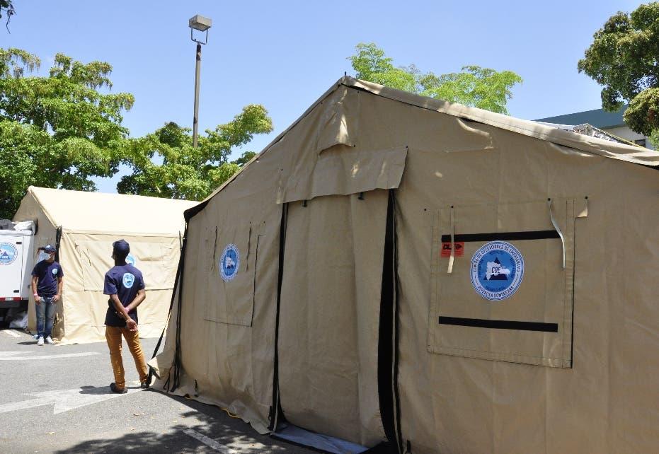 EU dona hospitales móviles y centros de operaciones a RD para la covid-19