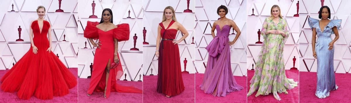 Óscar 2021: Los mejores y peores vestidos de la gran ceremonia