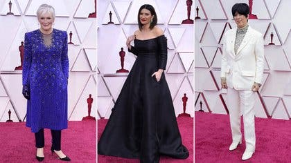 Oscars 2021: Todos los looks de la alfombra roja