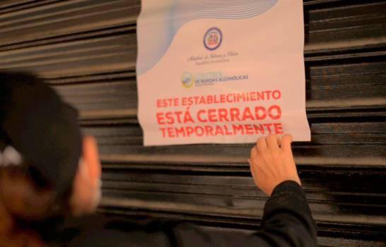 Semana Santa: Cierran varios negocios por venta de alcohol