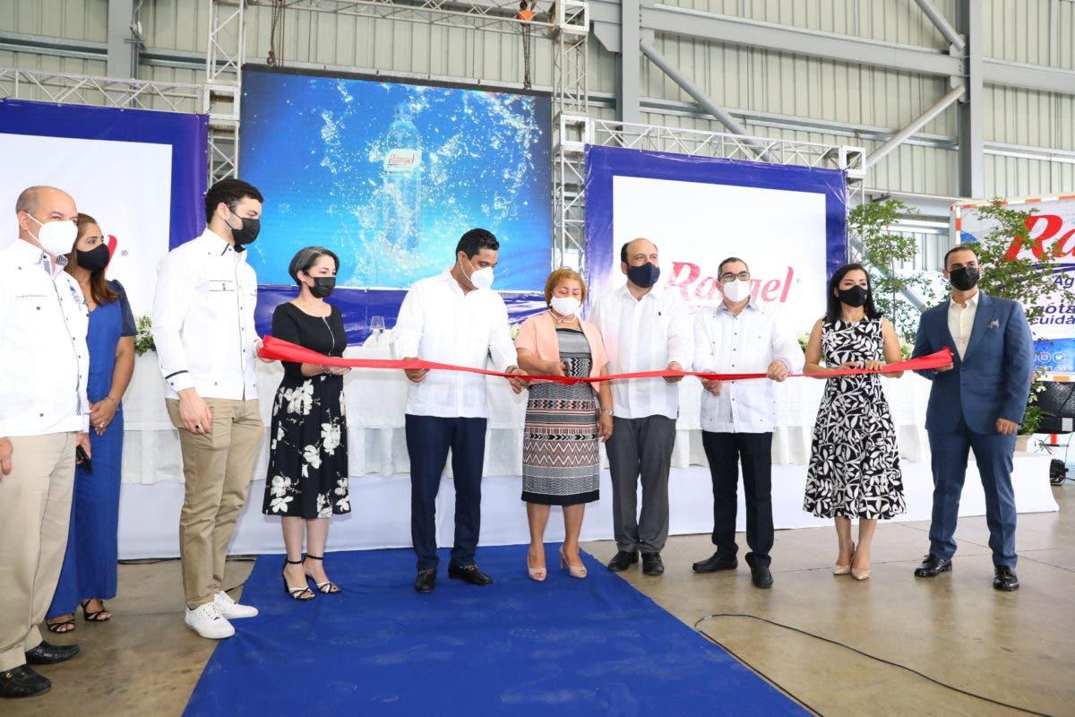 Agua Rangel invierte US$2.5 millones para ampliar producción y crear más empleos en La Vega