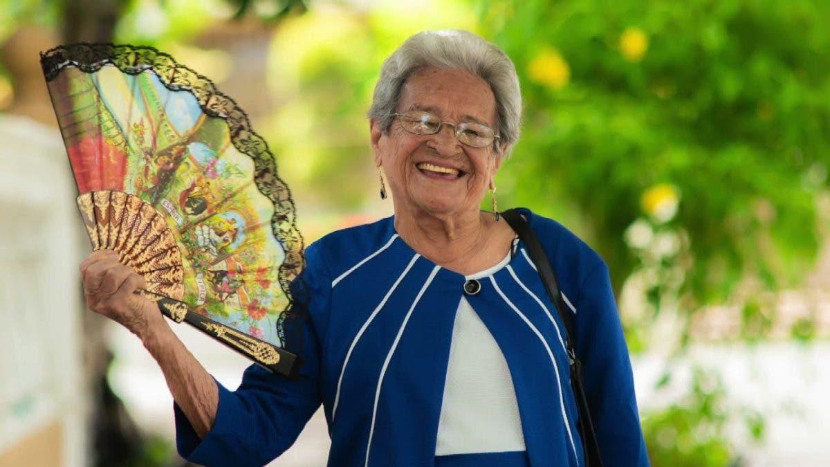 El mensaje de doña Trina tras cumplir 99 años