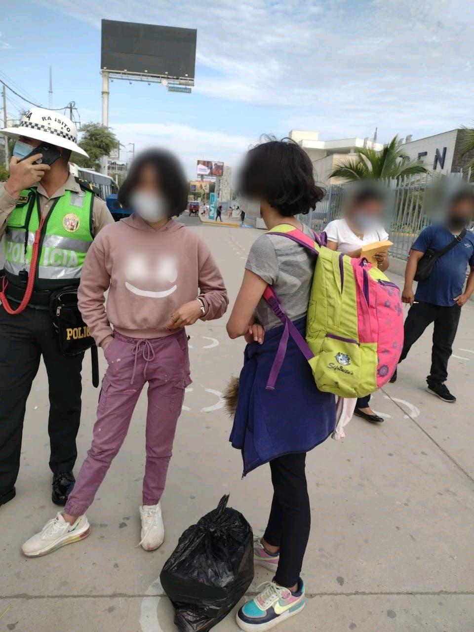 Policía de Ecuador localiza en Perú a dos menores venezolanas desaparecidas