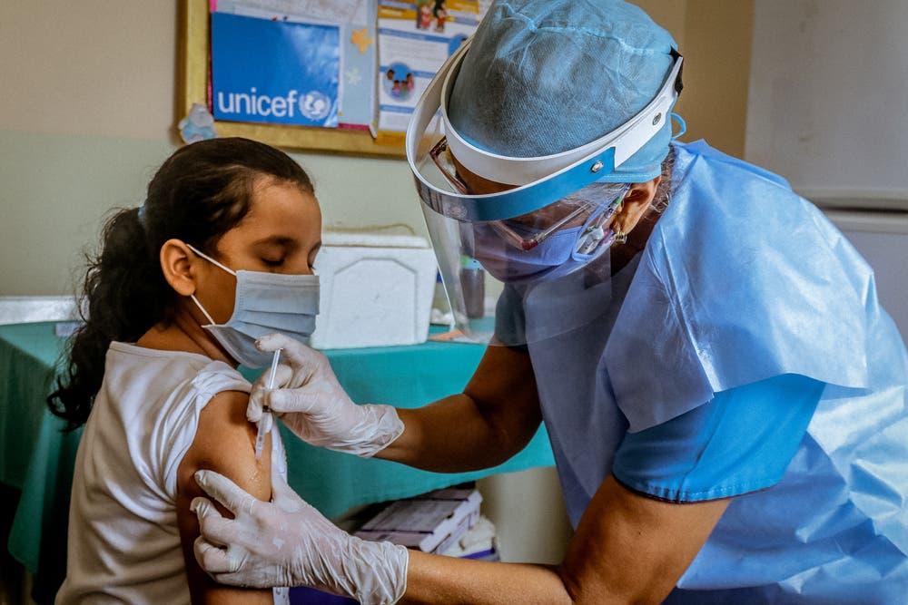Unicef: La pandemia ha reducido la cobertura regular de vacunación de niños y niñas en RD