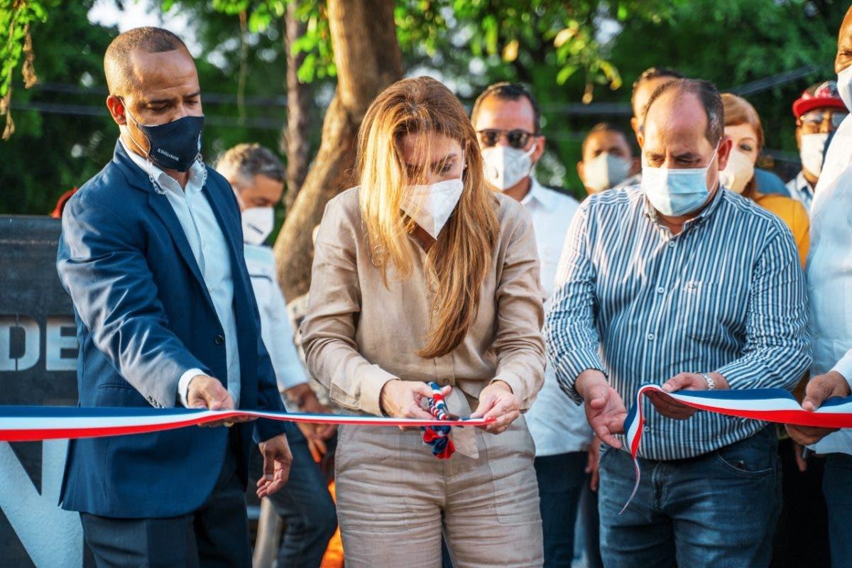Carolina Mejía inaugura nuevo Bulevar de Honduras en la Avenida Independencia