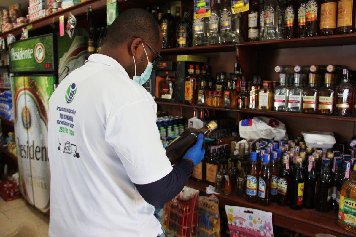 Pro Consumidor pone en marcha operativo contra la venta de alcohol adulterado