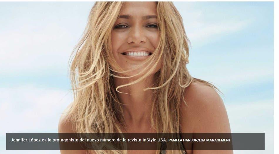 Jennifer López posa en bikini y de inmediato se hace viral