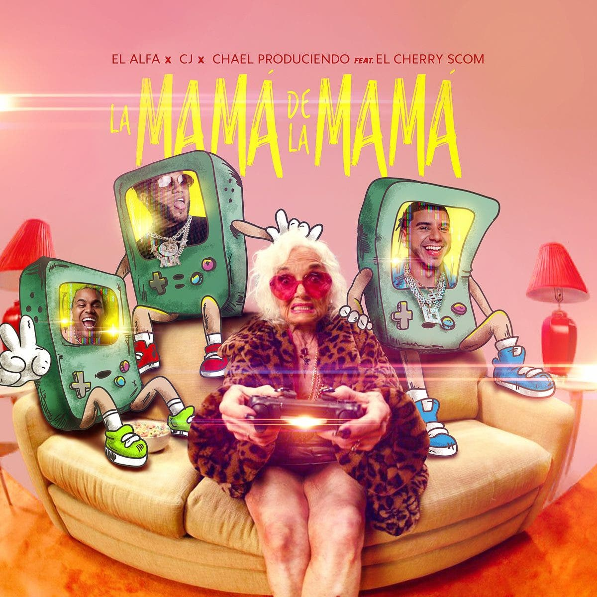 """«La Mamá de la Mamá"""", lo nuevo de El Alfa junto a CJ y El Cherry Scom"""