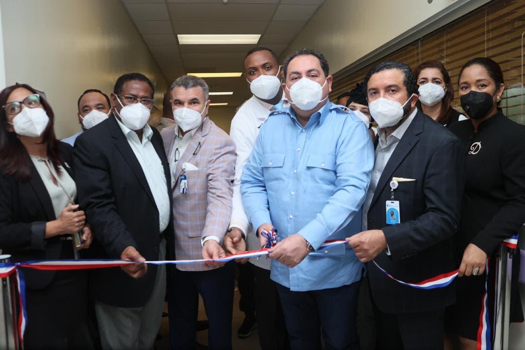 SNS pone en funcionamiento nuevas áreas en dos hospitales maternos de Santo Domingo