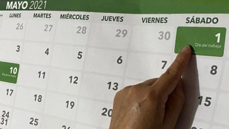Este sábado 1 de mayo no es laborable porque es Día del Trabajador