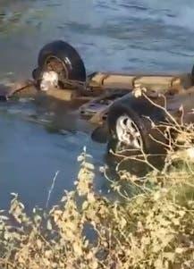 Agricultor se ahoga al caer vehículo en canal de Montecristi