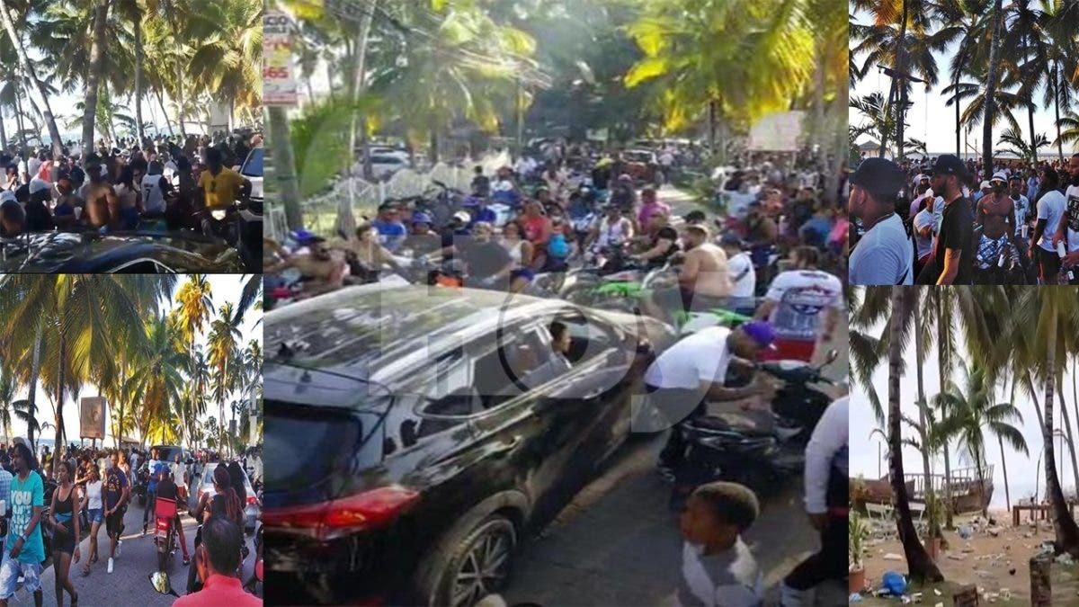 La gente se aglomeró en Semana Santa